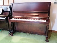 WISTARIA upright piano K110W matte walnut