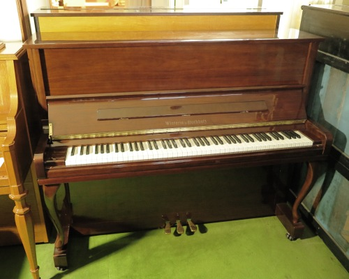 WISTARIA upright piano RU20 walnut