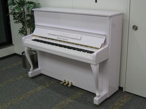 WISTARIA upright piano RU20 white